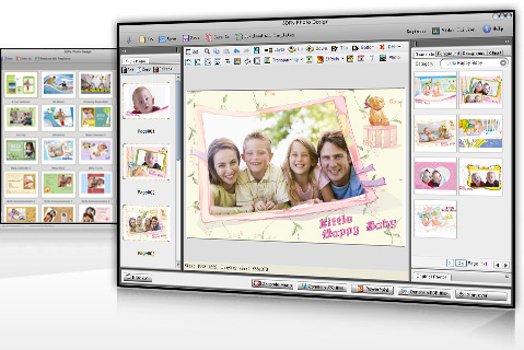 Photo design software and photo editing Screenshot